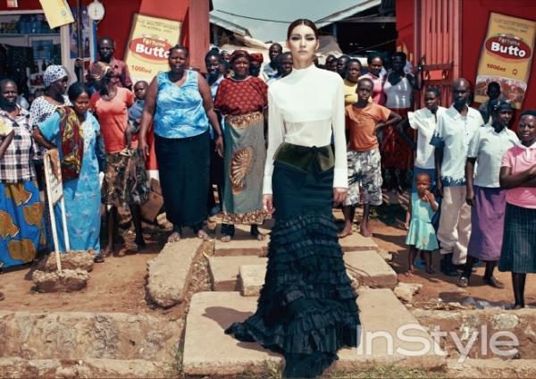 Kim Jung Hwa ắn tượng nổi bật giữa Châu Phi khô cằn