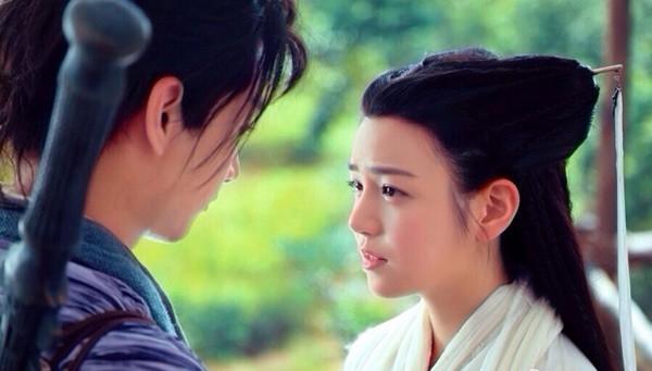 Trần Nghiên Hy vai Tiểu Long Nữ.