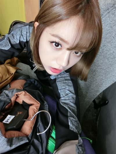Hyeri (Girl's Day) khoe đồ mùa đông