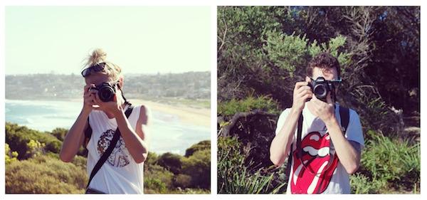 """Cộng đồng mạng thích thú với bộ ảnh """"nhìn nhau qua ống kính"""""""
