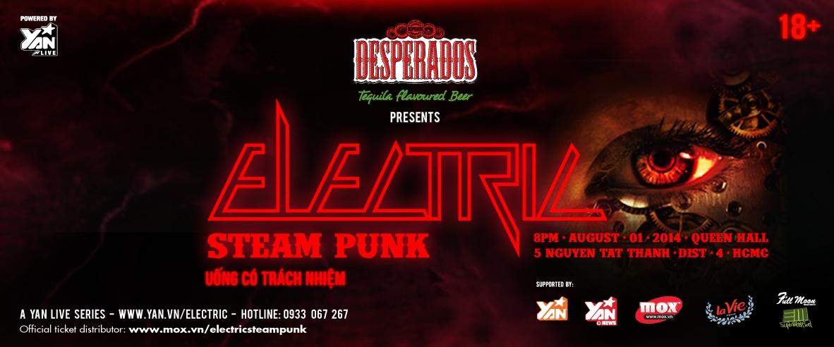 DJ quốc tế háo hức trải nghiệm sự thăng hoa trong ELECTRIC SteamPunk