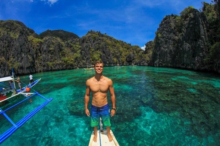 Lac giữa thiên đường ở El Nido, Philippines