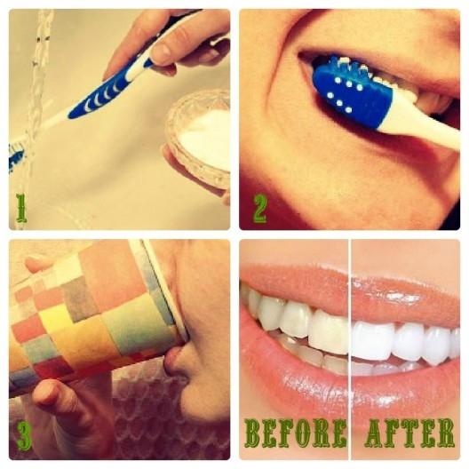 Mẹo giúp răng trắng sáng cực hiệu quả