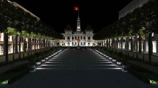 Đường Nguyễn Huệ sẽ thành quảng trường đi bộ