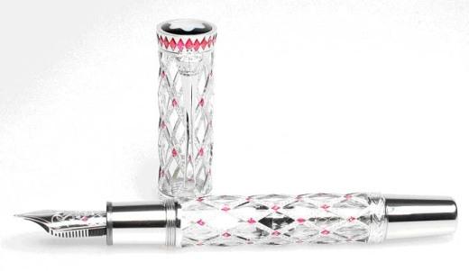 Những cây bút mực đắt đỏ bậc nhất thế giới.