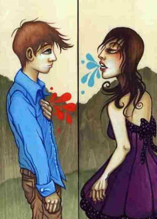 Có đôi khi bạn sẽ không hề biết được rằng, lời mình nói ra đã làm tổn thương người khác đến thế nào