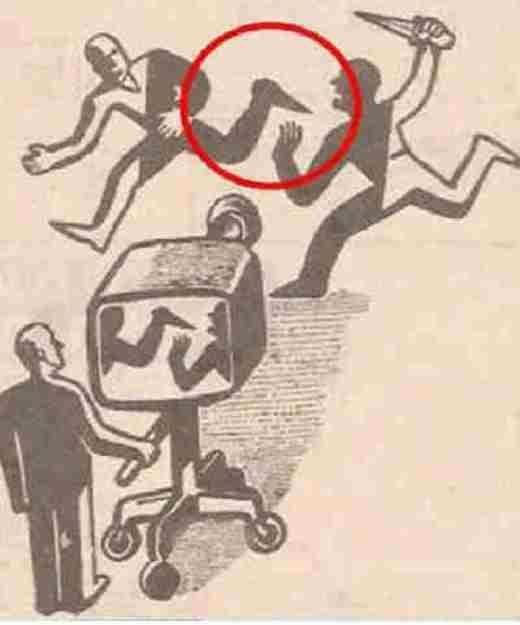 Có đôi khi, những điều bạn thấy trên ti vi chưa chắc là sự thật