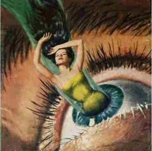 Trong mắt của đàn ông chỉ có nửa thân dưới của phụ nữ