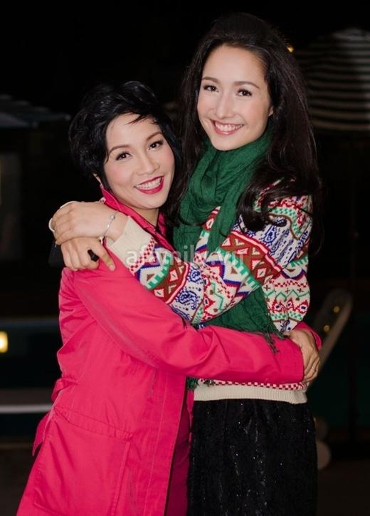 Anna Trươngluôn thấy mình may mắn vì có tới hai người mẹ