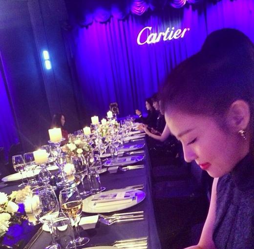 Ha Ji Won sang trọng và quý phái đi dự sự kiện