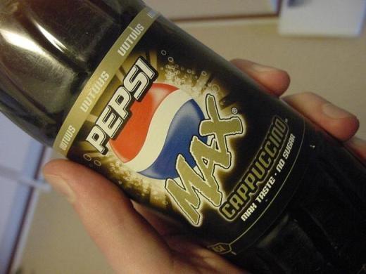 Pepsi mang hương vị cà phê cappuccino ở Nga và các nước Châu Âu