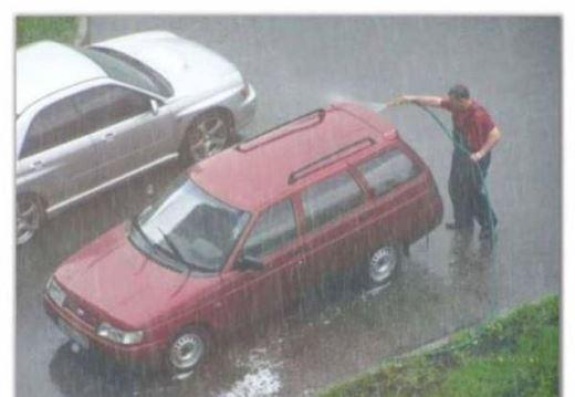 Thời điểm tuyệt vời để rửa xe