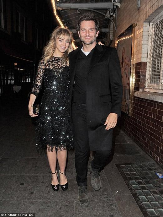 Bradley và bạn gái hiện tại
