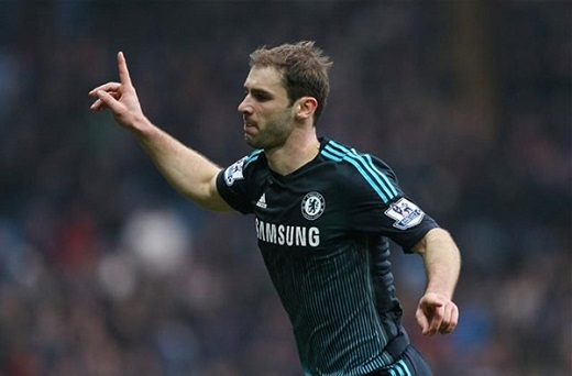 7. Branislav Ivanovic (Chelsea).