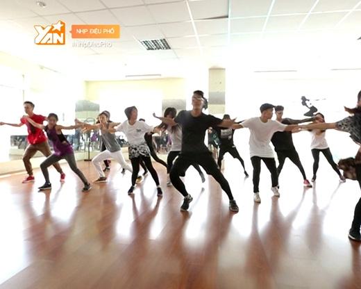 Urban choreography là một thể loại nhảy mới.