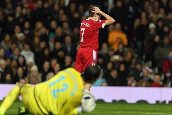 Cậu cả nhà Beckham nuối tiếc vì bỏ lỡ cơ hội ghi bàn cho ở trận đấu đáng nhớ trong đời.