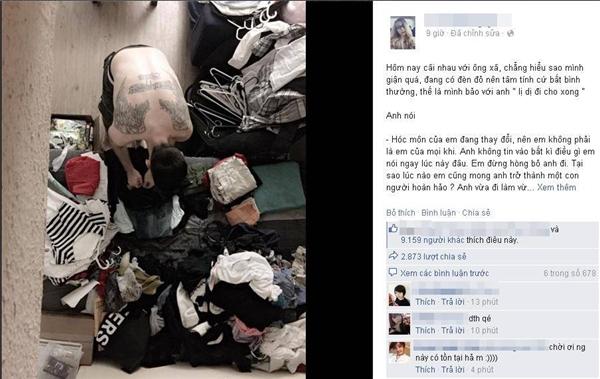 Chỉ sau vài tiếng đồng hồ, bức ảnh cùng câu chuyện của cô gái nhận được hơn 9.000 lượt thích, gần 3.000 lượt chia sẻ cùng hàng trăm bình luận của cư dân mạng. (Ảnh: Fbnv)