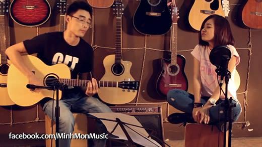 Minh Mon & Thủy Tẹt - Vì Tôi Còn Sống (Guitar cover)