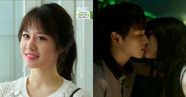 Jiyeon bất ngờ khóa môi Siwan trong phim Triangle