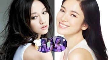 """Song Hye Kyo và Trần Kiều Ân """"quá chén"""" trong tiệc tụ hội xuyên đêm"""