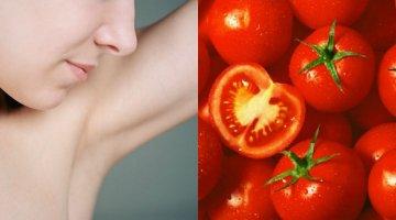 [Sống khỏe] Trị hôi nách cực hiệu quả với cà chua