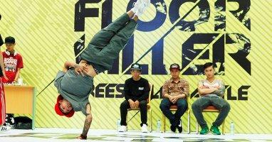 Giải đấu hiphop Floor Killer Warm Up chính thức khởi động
