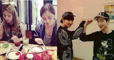 """[Mlog Sao] Hyoyeon khoe hình dùng bữa cùng Yuri, Chanyeol """"đối đầu"""" với Seo Kang Joon"""