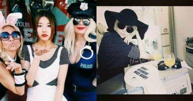 """[Mlog Sao] Suzy khoe hình tạo dáng như """"tượng"""", Hyomin """"đen"""" toàn tập"""