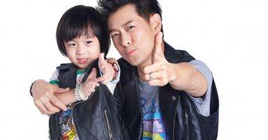 Bố con Kimi tái xuất trong chương trình Dad Where Are You Going