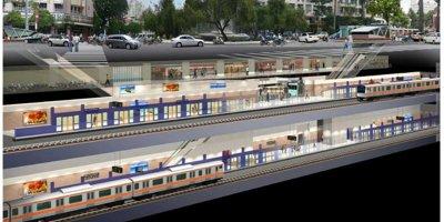 Cận cảnh nhà ga ngầm tuyến Metro số 1 ở TP.HCM
