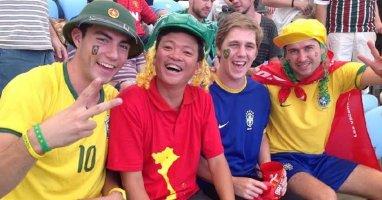 [Bóng Đá] CĐV Việt Nam rạng ngời ở World Cup