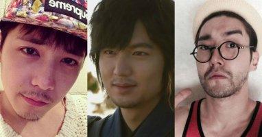 Mỹ nam Hàn nào nam tính nhất với râu ria mép?