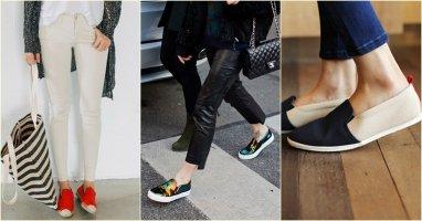 Giày Slip-on: phụ kiện dành cho người lười nhưng thích cá tính