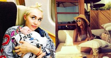 [Mlog Sao] Miley Cyrus khoe thú cưng mới nhận, Beyonce đi nghỉ dưỡng