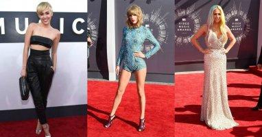 """""""Ngàn sao"""" hội tụ khoe sắc trên thảm đỏ VMAs 2014"""