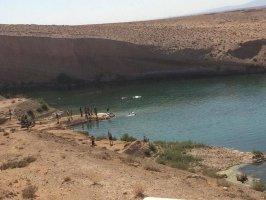 Bí ẩn một hồ nước đột ngột xuất hiện giữa vùng sa mạc