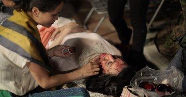 Trang Nhung kể chuyện hóa trang thành xác chết cháy