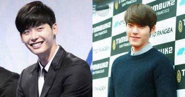 """Lee Jong Suk """"mém"""" được tái ngộ cùng Kim Woo Bin"""