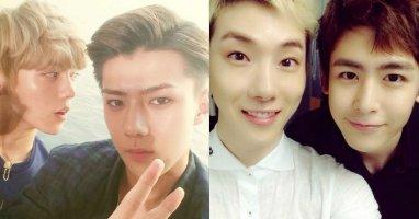 [Mlog Sao] Sehun khoe hình cùng Luhan, Jokwon tình cảm với Nichkhun