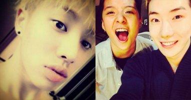 Kikwang bất ngờ khoe môi dày quyến rũ, Jokwon thân thiết với Amber