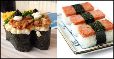 """""""Chết mê chết mệt"""" với những loại sushi kì lạ chỉ có ở Mỹ"""