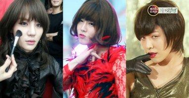 """""""Đọ"""" độ xinh gái của các mỹ nam Hàn"""