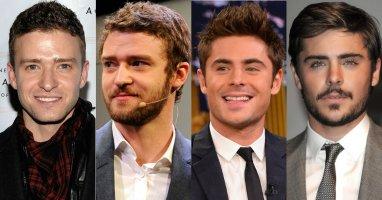 """Sao Hollywood """"đọ nam tính"""" khi để râu"""
