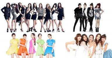 """Những nhóm nhạc nữ Kpop là """"kì phùng địch thủ"""" của nhau"""