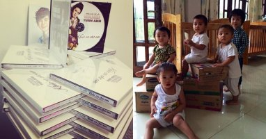 Album của WanBi Tuấn Anh gây quỹ nuôi dưỡng trẻ sơ sinh bị bỏ rơi