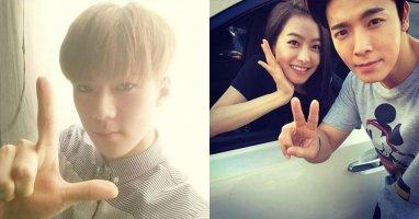[Mlog Sao] Sehun khoe hình mừng tên fanclub của EXO, Donghae tạo dáng cùng Victoria
