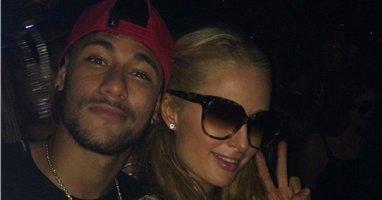 [ Bóng đá ] Neymar cặp kè với công chúa nhà Hilton