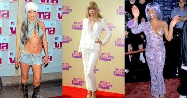 Những bộ cánh gây ấn tượng tại các mùa giải MTV VMAs