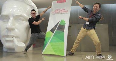 """Quán quân VIETNAM YOUNG SPIKES 2014: """"Vòng thi tại Singapore sẽ là một đấu trường lớn"""""""