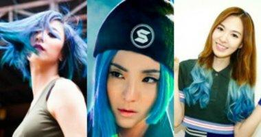 """Những nữ thần tượng Hàn """"hút hồn"""" với mái tóc màu xanh"""